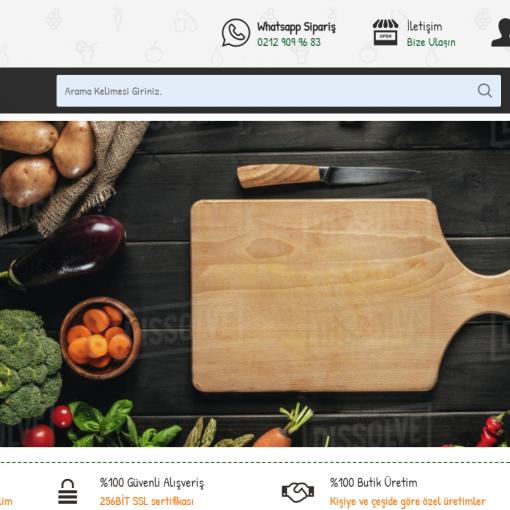 Opencart Market ,Aktar ,Sebze Ürünleri  Teması